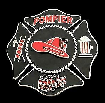Pompier Fireman Fire Fighter Red Tools and Buckle Max 56% OFF Hat Belt Free shipping