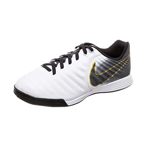Nike JR Legend 7 Academy IC, Zapatillas de fútbol Sala Unisex niño, Blanco (White/Black 100), 27.5 EU
