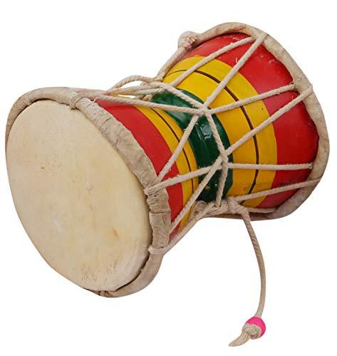 Juarez Nawaab 5 Inch Damru Hand Percussion Handmade Indian Musical Instrument