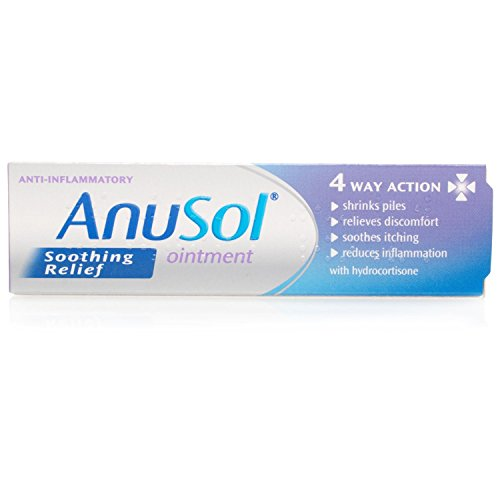 Anusol Soothing Relief Ointment – the best haemorrhoid treatment UK