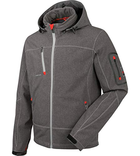 WÜRTH MODYF Artic Softshelljacke: Die attraktive Jacke ist aus einem mehrlagigen Gewebe gearbeitet, das besonders hautfreundlich & weich ist. Die Jacke ist in XS & grau verfügbar.
