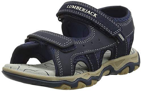 Lumberjack Levi, Sandali Punta Aperta Bambini e Ragazzi, Blu (Navy Blue Cc001), 29 EU