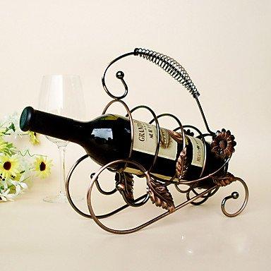 Z@SS Casiers À Bouteilles Fonte,22 * 15 * 34CM du Vin Accessoires