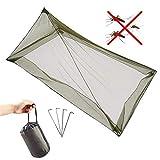 ANSUG Moustiquaire de Camping, moustiquaire de Tente extérieure, Moustiquaire de la Tente Pyramid, Ensemble...