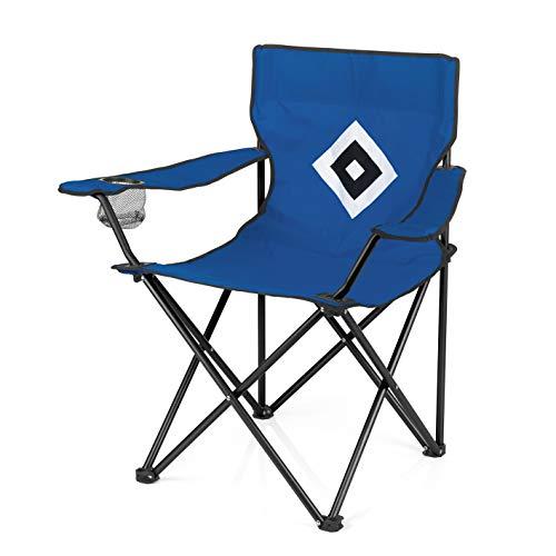 Hamburger SV Campingstuhl, blau, 50 x 50 x 80 cm