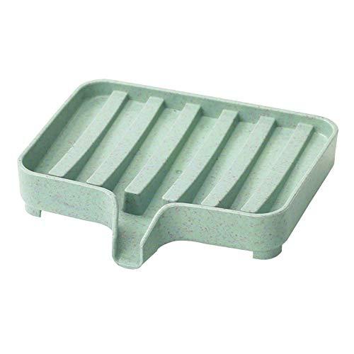 KeKeandYaoYao Thuis Badkamer Douche Zeep Schaal Opslag Lade Houder Plate Rack Drain Box Zeepbak Zeepschaal