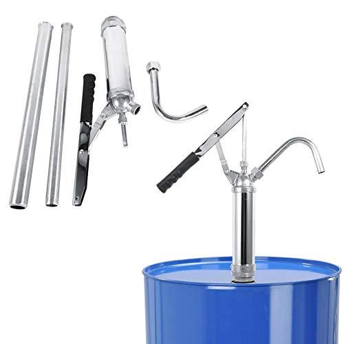 Pompa Travaso Liquidi Rotativa, Leva pompa, Pompa Manuale per Fusti Olio Pompa di benzina Diesel Fuel Tool