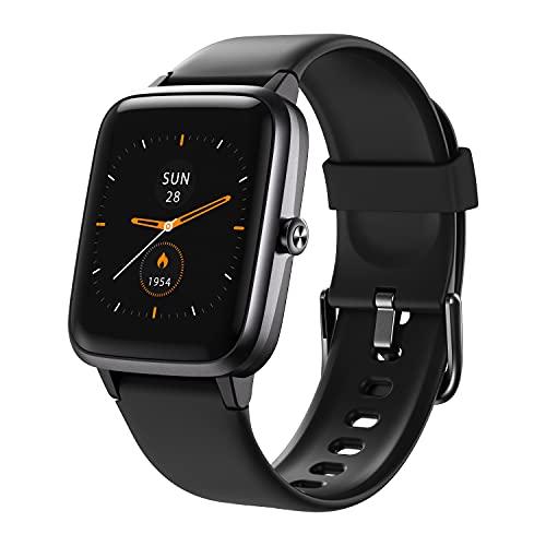Vigorun Smartwatch, Tracker Fitness con Monitor de Cardiofrequenzimetro e Sonno, Orologio di Attività con Full Touch Screen, GPS Integrato, 14 Modalità Sportive, Impermeabile 5ATM per Donna Uomo