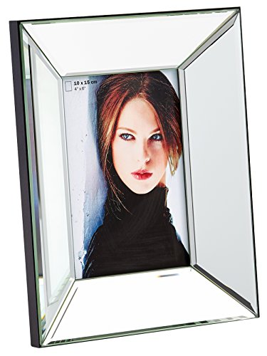 walther design IJ015S Portraitrahmen Jette, 10x15 cm, Spiegelglas