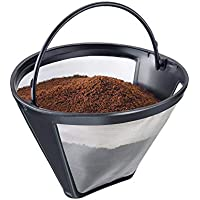 Westmark 24432260 - Filtro Permanente para cafetera, Polipropileno y Acero Inoxidable, 11,9 x 11,2 x 8,3 cm, Color Negro y Transparente