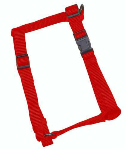 (X-Pequeno, 1cm x 2,5cm - 41cm, vermelho) - Arnes Ajustavel para Caes Hamilton Comfort Vermelho 3 8 X10-16 - CFA