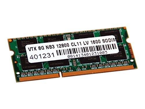 VisionTek 8GB DDR3L Low Voltage 1600 MHz (PC3-12800) CL11 SODIMM, Notebook Memory - 900642