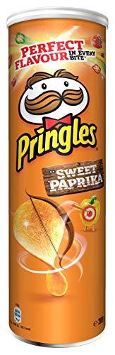 Pringles Sweet Paprika | Paprika Chips | Einzelpackung (1 x 200g)