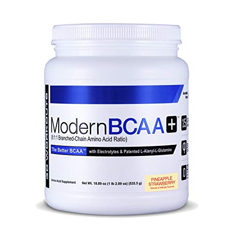 Modern Sports Nutrition BCAA+, Pineapple Strawberry, 535 g