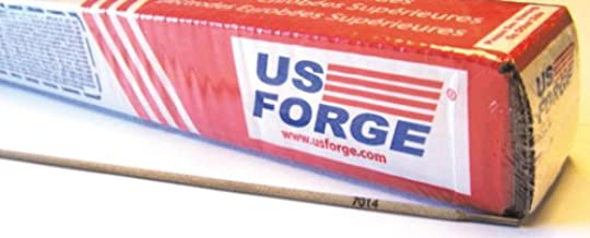 US Forge Welding Electrode E7014 1/8-Inch by 14-Inch 5-Pound Boxed Red #51433