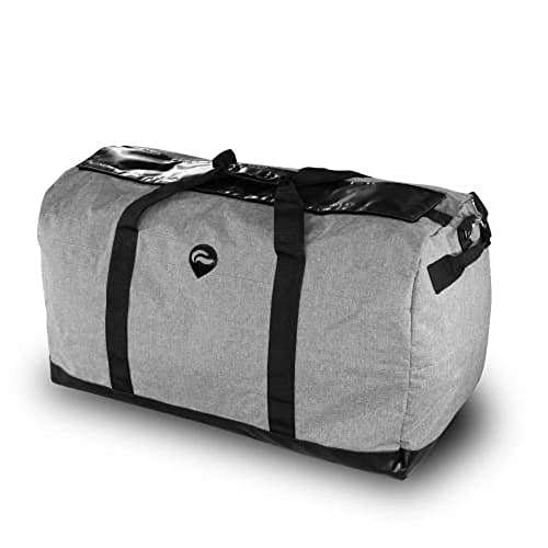 MJ Wholesale Skunk Midnight Express Duffle Bag (Gray, Large)