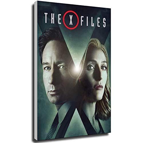 Poster de la série X-Files TV et impressions murales sur le mur, décoration intérieure, cadeau, 70 × 100 cm