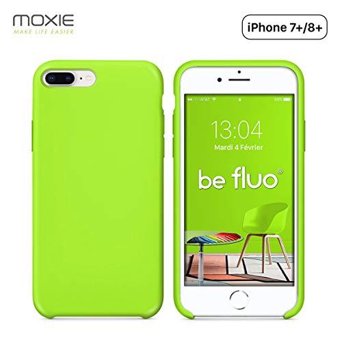 Moxie - Carcasa para iPhone 7 Plus y 8 Plus, Compatible con Apple iPhone 8 Plus Apple iPhone 7 Plus Recharge Sans Fil Chargeur Sans Fil Chargeur à Induction