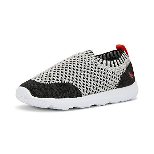 See Kai Run, Ryder Knit FlexiRun Active Sneakers for Kids, Gray, 7 M Toddler