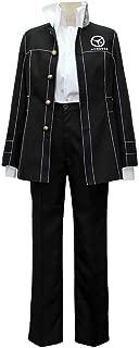 Cosonsen Persona 4 Naoto Shirogane Uniform Cosplay Costume with Blue Hat Custom Made