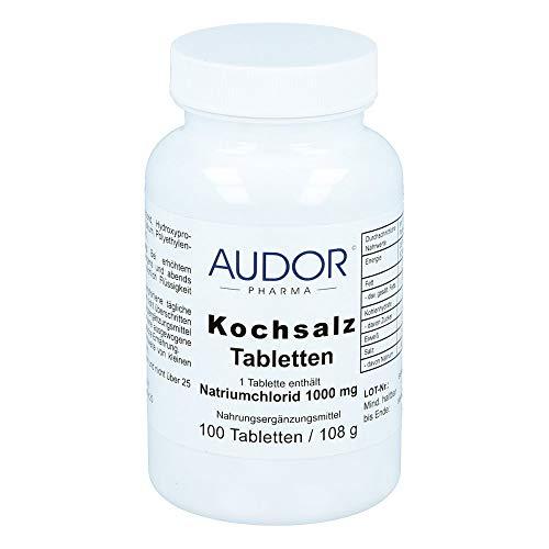 AUDOR Kochsalz Tabletten, 100 St. Tabletten