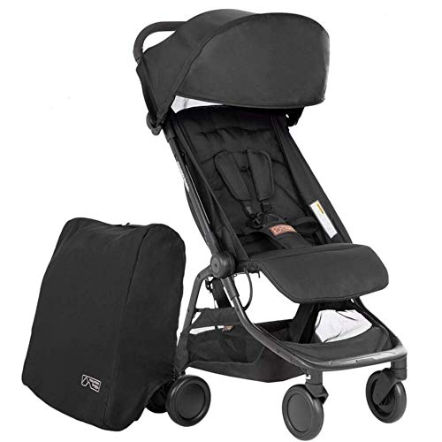 Mountain Buggy Nano V3 Stroller (Black)