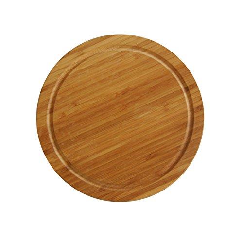 axentia Fleischteller Bambus, durchmesser 25 cm, 260466