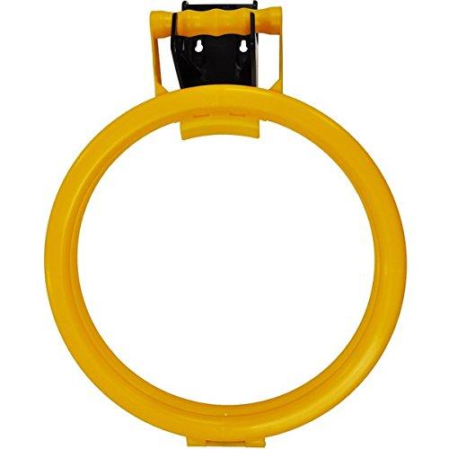 hillbrush kommerziellen hh3y Tasche aus Polypropylen Reifen mit 120mm Wandhalterung, gelb