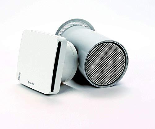 Fantini Cosmi AP19990 – RHINOCOMFORT RF – Unidad MASTER de ventilación monodosis con recuperación de calor y desinfección del aire, blanco