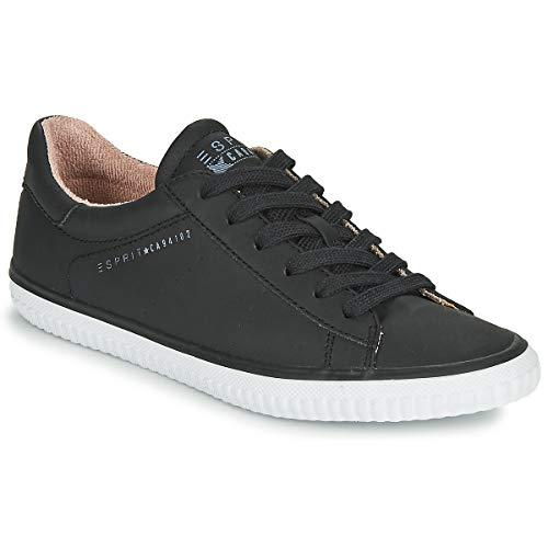 ESPRIT Schnür-Sneaker mit Lochmuster-Details