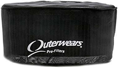 Black Outerwear Prefilter Round 6 Tall Cone 10-1278-01