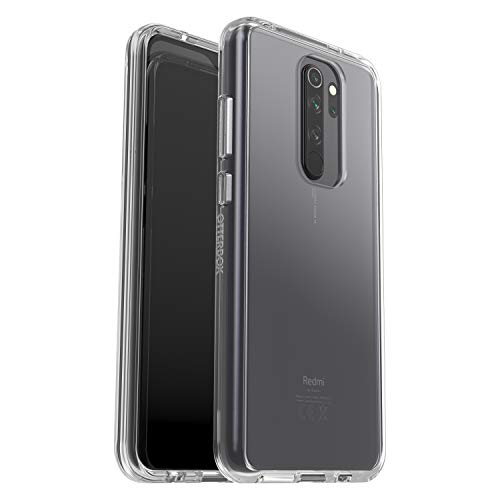 OtterBox Sleek Case funda anticaídas fina para Xiaomi Redmi Note 8 Pro, Sin Embalaje, Transparente