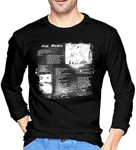 Frank Ocean Slide On Me Fashion Men's Long Sleeve T-Shirt Black,X-L