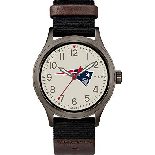 Timex Men's TWZFPATMB NFL Clutch New England Patriots Watch