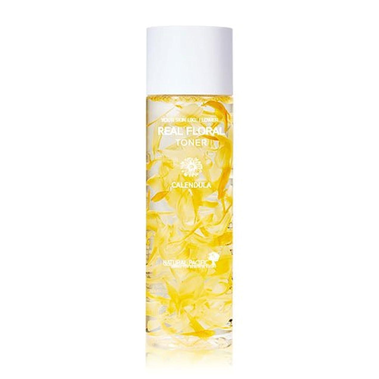 談話振り子ページェント[Renewal] NATURAL PACIFIC Real Calendula Floral Toner 180ml/ナチュラルパシフィック リアル カレンデュラ フローラル トナー 180ml [並行輸入品]