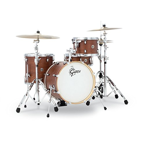 Gretsch Schlagzeug-Set, CT1J484SWG, 2014, Catalina Club, Jazz, 4-teiliges Trommel-Set,  Satin-Wallnussglasur