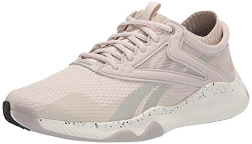 Reebok Women's HIIT Training Shoe Cross Trainer, stucco/chalk/pure Grey, 6.5 M US