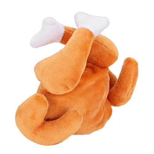 SALUTUYA Sombrero de Gato Disfraz de Cosplay para Mascotas para Halloween Fiesta de Navidad Forma de Pierna de Pollo(Drumstick Hat, One Size)
