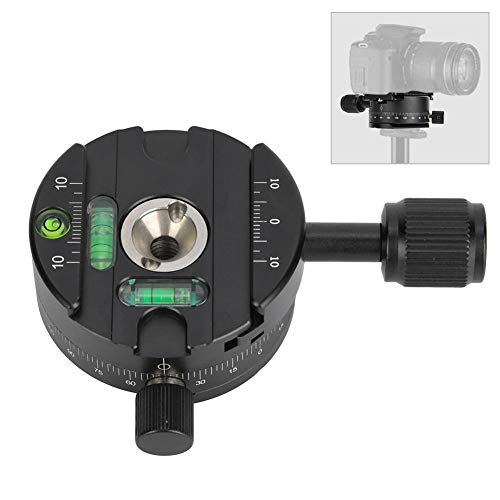 X64 Paranomic Head met 360 ° rotatie Quick release plaat voor statiefkop voor spiegelreflexcamera