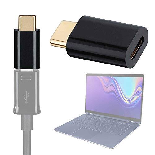 """DURAGADGET Adaptador de Micro USB a USB C, bañado en Oro para Portátil Samsung Notebook 9 Pen 13"""""""