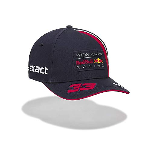 Red Bull Racing Max Verstappen Driver Cap, Blau Youth One Size Kappe, Racing Aston Martin Formula 1 Team Original Bekleidung & Merchandise