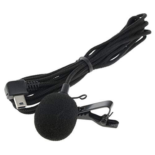 Baoblaze Mini Kit de Micrófono de Micrófono Estéreo con Adaptador de Cable para Gopro Hero 4 3+ 3