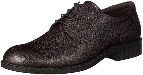 Ecco Harold, Zapatos de Cordones Brogue Hombre, Marrón (Coffee), 42 EU