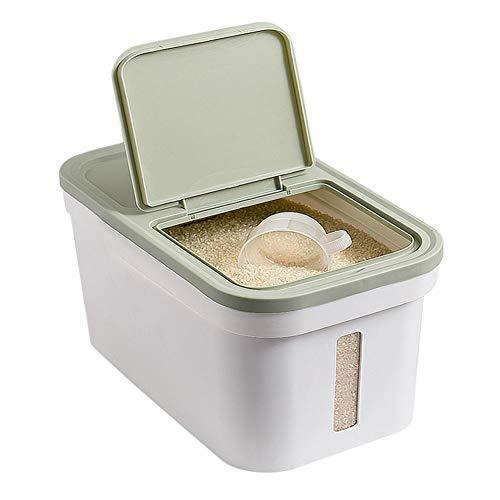 Transparente Aufbewahrungsbox Kunststoff Weiß Meter Barrel Haushalt 20 Kg Reisbox Lagerung Reistank Reiszylinder Barrel Aufbewahrungsbox Lagerung