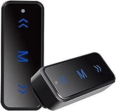 Mengshen Super Mini Walkie Talkies VV-108 with USB Port & Earpieces & USB Charger UHF 400-480MHz for Hotel,Hair Salon,Auto Shop Restaurant,KTV,Security 1 Pair (2 Pcs) VV-108Black