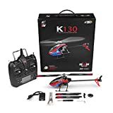 TPTPMAY K130 2.4G 6CH Brushless 3D 6G Flybarless System RC Helicopter RTF Super Combo Flybarless System RC Helicopt