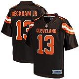 NFL PRO LINE Men's Odell Beckham Jr. Brown Cleveland Browns Logo Player Jersey