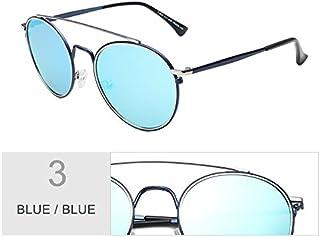 2e79e37dd4 TIANLIANG04 Gafas De Sol Polarizadas Mujer Redonda Ojo De Gato Negro Vintage  Gafas Gafas Gafas Uv400
