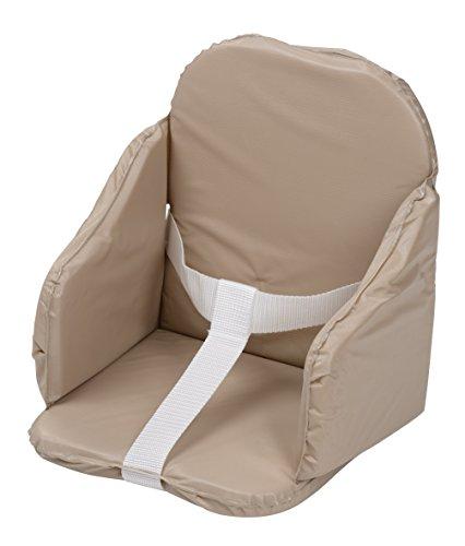 Tinéo Coussin de Chaise à Sangles PVC Taupe