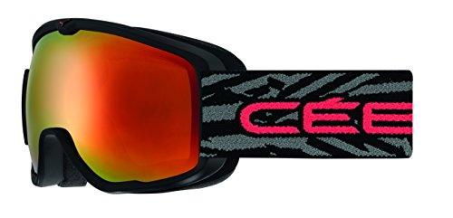 Cébé Kinder ARTIC Skibrille, Matt Black/Red, S